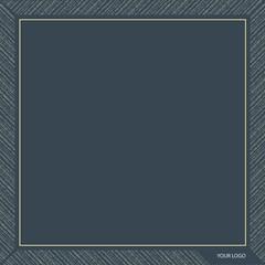 Pocket Square Scarf Design