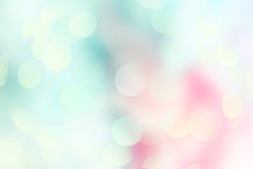 Soft pink blue background.