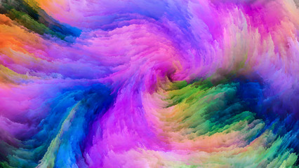 Processing Colorful Paint