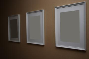 three frames in a row