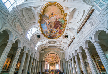 Church of San Pietro in Vincoli in Rome, Italy.