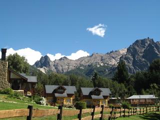 Landscape in Bariloche, Patagonia, Argentina