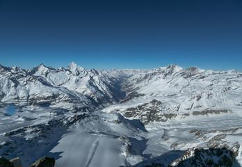 Glacier in Alps