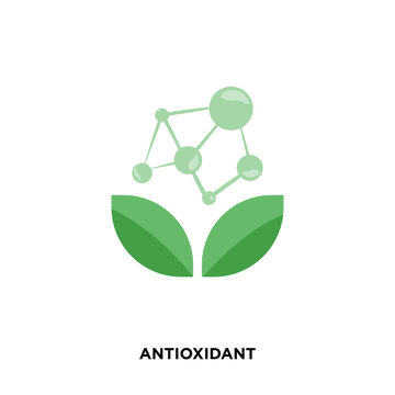 antioxidant icon isolated on white background for your web, mobile and app design