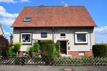 Doppelhaus der Nachkriegszeit in Lindhorst