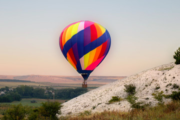 Autocollant pour porte Aerien Hot air balloon
