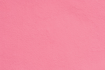 Pink rose cement plaster wall texture background.