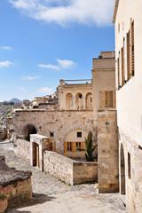 mediterranean sardina style houses in Cappadocia