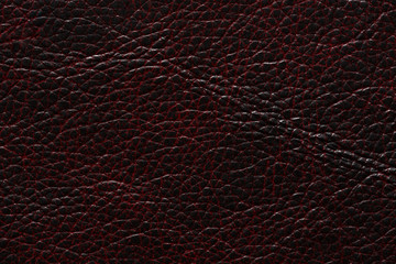 Extraordinary leather texture in dark black & red tones.