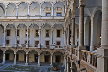 Palermo, interno di Palazzo dei Normanni