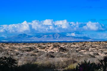 Lanzarote from Origo Mare