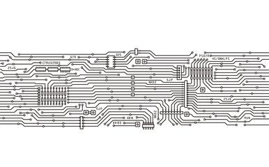 基盤・回路のイメージイラスト