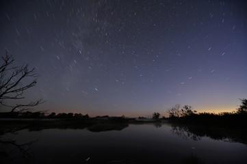 Sternenhimmel über der Oder