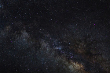 Stars in space dust in the universe and milky way galaxy