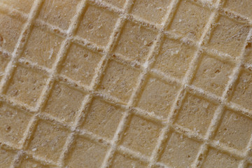 Wafer texture. Large cells.