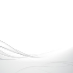 Grey abstract soft mild smoke lines background design