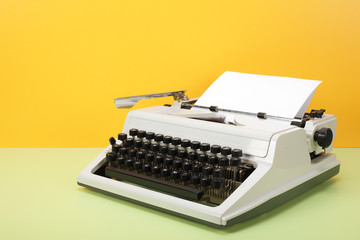 Vintage objects - Retro Typewriter