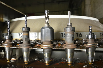 Drills from the milling machine, nozzles bit for various work