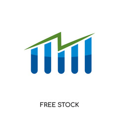 free stock icon isolated on white background for your web, mobile and app design