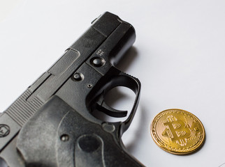 The concept of security of crypto currency and crimes with crypto currency