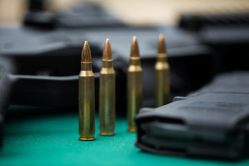 .ammo to machine gun and ammunitions