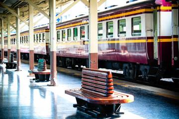 Thailand railway station