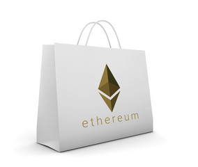 concept of crypto currency, ethereum