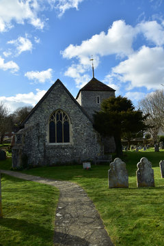 St Simon & St Jude Church, East Dean, Sussex, England, UK