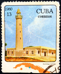 CUBA - circa 1980 - lighthouse, 1980.