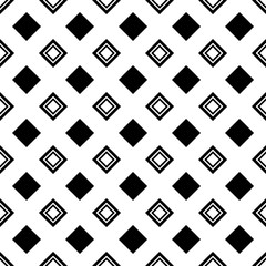 Pattern Abstract Geometric wallpaper. Vector illustration. background. black. on white background