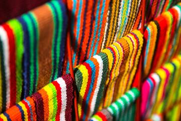 Handmade craft of a Columbian traditional souvenir