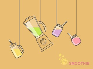 Utensils and accessories for smoothies