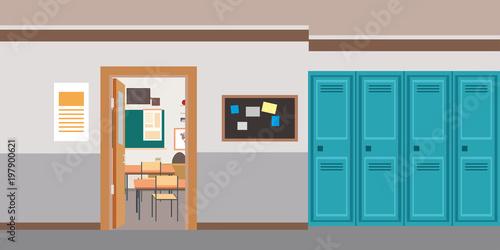 Open classroom door Centralazdining Cartoon Empty School Interioropen Door In Classroom Shutterstock Cartoon Empty School Interioropen Door In Classroom
