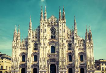 Fototapete - Milan Cathedral (Duomo di Milano), Italy