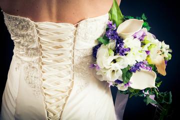 Beautiful Bride's Back