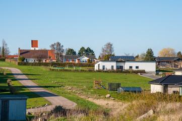 Town of Kastrup in Denmark