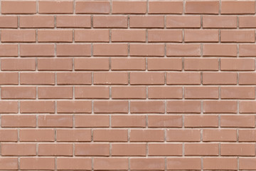 Brick texture seamless pattern of facing brick