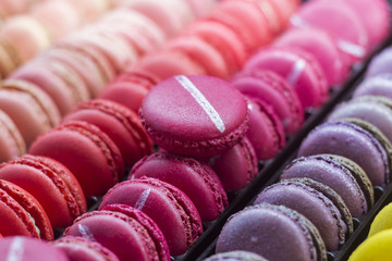 Foto auf AluDibond Macarons macaron
