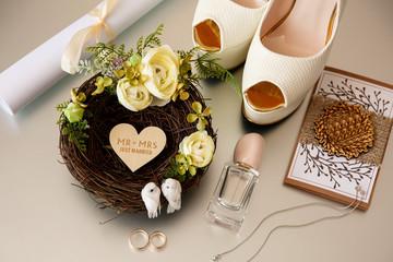 Bride wedding accessories