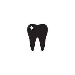 tooth icon. sign design