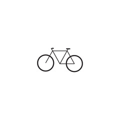 bicycle icon. sign design