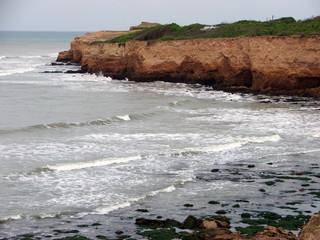 Mar con Acantilados. Mar con Barrancas.