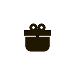 present icon. sign design