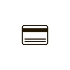 card icon. sign design