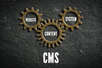 CMS aus Komponenten Website, Content und System