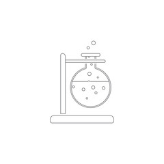 lab tests icon. Simple element illustration. lab tests symbol design template. Can be used for web and mobile