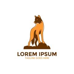 Unique Wolf Logo