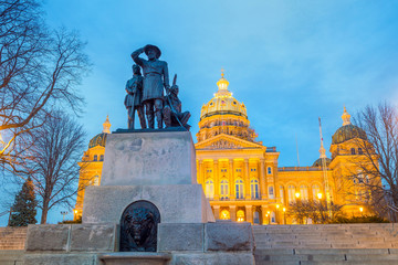 Fotomurales - State Capitol in Des Moines, Iowa