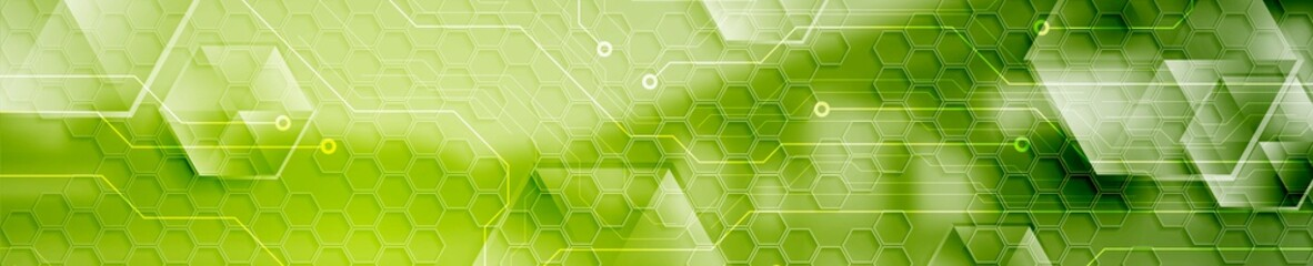 Abstract technology modern industrial web header banner
