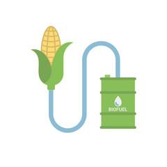 Biofuel - Biomass Ethanol, Made from Corn.